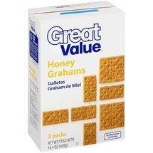 Great Value Honey Grahams