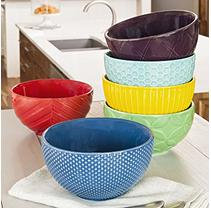 6PK CEREAL BOWLS DAILY CHEF