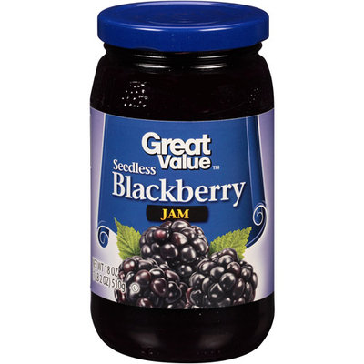 Great Value: Blackberry Preserves, 18 Oz