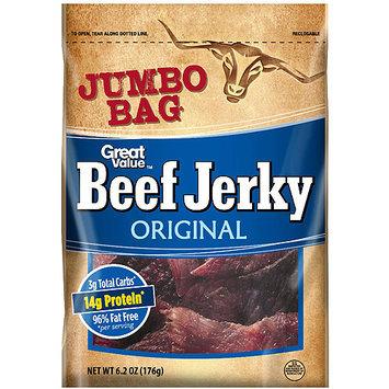 Great Value: Original Beef Jerky, 6.2 Oz