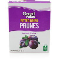 Great Value: Pitted Prunes, 9 Oz