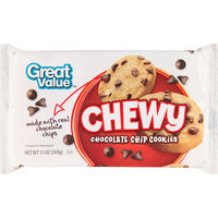 Great Value Chewy Chocolate Chip Cookies, 14 oz