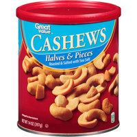 Great Value Cashew Halves & Pieces, 14 oz