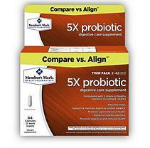 Member's Mark 5X Probiotic Digestive Supplement (42 ct, 2 pk.)