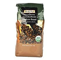 Daily Chef Organic Decaffeinated Medium Roast Coffee, Wholebean (2.5 lb.)
