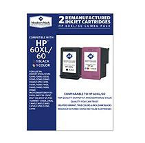 Member's Mark Remanufactured HP 60XL/60 Combo Pack