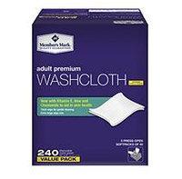 Member's Mark Adult Washcloths (240 ct.)