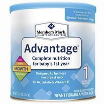 Member's Mark Infant Formula, Advantage (12.4 oz.)
