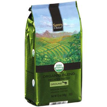 Sam's Choice Organic Blend Decaffeinated Ground Medium Roast Coffee, 12 oz