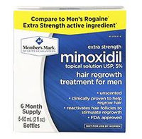 Member's Mark Minoxidil 5% Solution (2 fl. oz, 6 ct.)