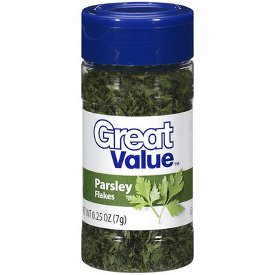 Great Value Parsley Flakes, .25 oz