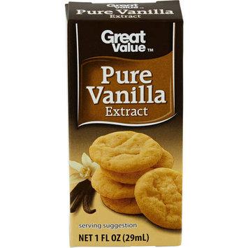 Great Value Pure Vanilla Extract, 1 fl oz