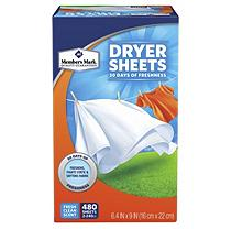 Member's Mark Fabric Softener Sheets (480ct.)