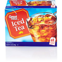 Great Value Iced Tea Family Size Tea Bags, 48 count, 12 oz