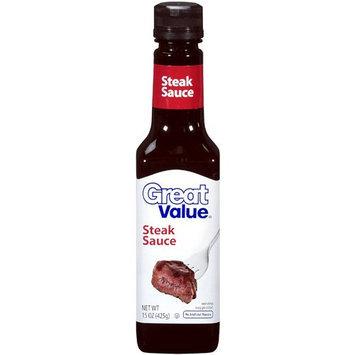 Great Value: Steak Sauce, 15 Oz