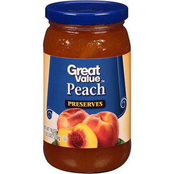 Great Value: Peach Pineapple Preserves, 18 Oz