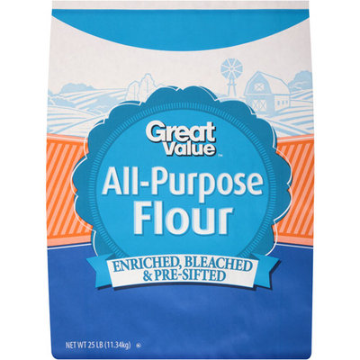 Great Value All Purpose Flour, 25 lb