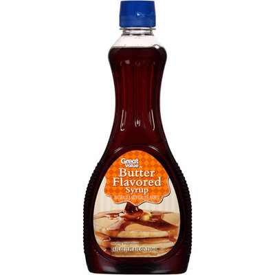 Great Value Butter Flavored Syrup