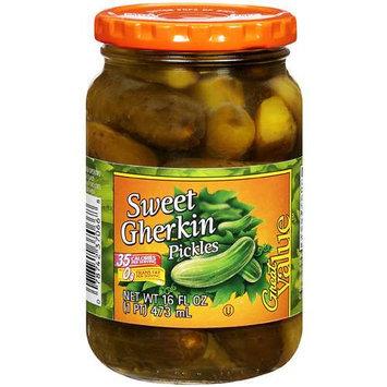 Great Value: Sweet Gherkin Pickles, 16 Fl Oz