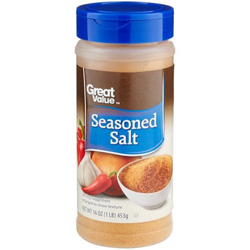 Great Value: Seasoned Salt, 16 oz