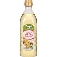 Great Value: Extra Light Tasting Olive Oil, 17 oz