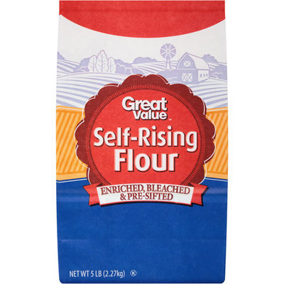 Great Value: Self Rising Flour, 5 Lb