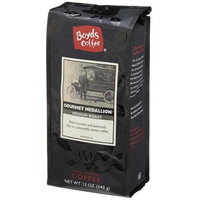 Boyds Coffee Gourmet Medallion, Ground Coffee, 12 oz