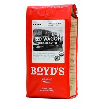 Boyds Coffee Organic Cafe Rojas, Ground Coffee, 12 oz