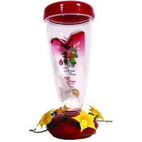 Perky Pet 24 Oz Red Top Fill Hummingbird Feeder
