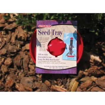 Perky Pet PP301 Bird Seed Tray - Red