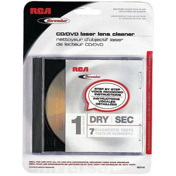 RCA 1-Brush Dry CD/DVD Laser Lens Cleaner