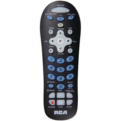 Ge/rca RCA RCR311BN 3-Device Universal Remote Control - Black