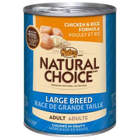 Nutro 791437 Nutr Nc Large Breed Dog 12-12.5 Oz. Pack of 12