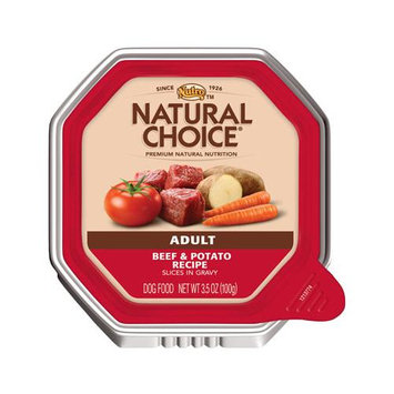 Nutro Natural Choice Adult Dog Food Beef & Potato Slices in Gravy