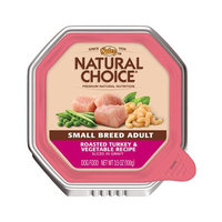 Nutro Natural Choice Small Breed Adult Dog Food Chicken & Brown Rice Slices in Gravy