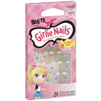 Fing'rs Girlie Nails, 31619, 24ct
