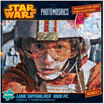 Buffalo Games, Inc. Star Wars Photomosaics Puzzles 1000pc -Luke Skywalker