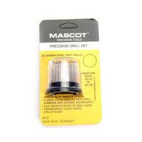 Mascot Precision Tools 20 Pc Drill Set (No 61-80) Multi-Colored