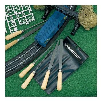Mascot Precision Tools 6 pc Wood File Set w/Pouch Multi-Colored