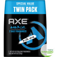 Axe Anarchy Bodyspray - Twin Pack
