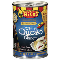 Ricos Restaurant Style White Queso Blanco Cheese Sauce, 15 oz