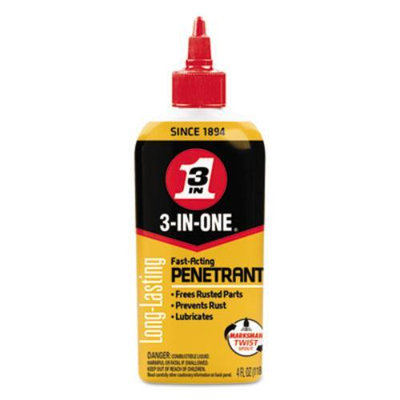 WDF120015 - WD-40 3-IN-ONE Professional High-Performance Penetrant; 4 oz Bottle