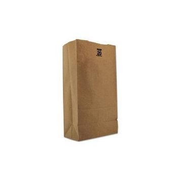 Box Partners BGH110K 8 .25 in. x 5 .31 in. x 16 .12 in. Kraft Hardware Bags