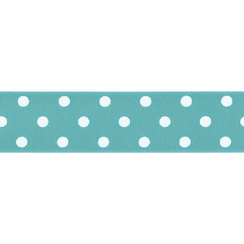 Offray Polka Dot Grosgrain Ribbon 1-1/2
