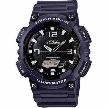Casio Solar AnaDigi Watch Navy Wht