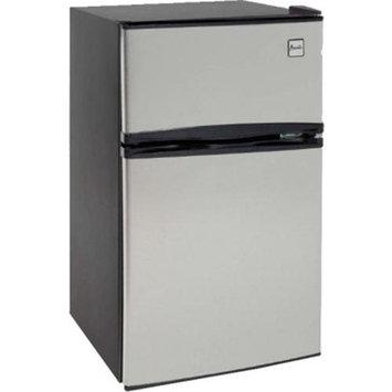 Mas Inc. MAS RA3136SST 3.1 cu. ft refrigerator two door black with stainless steel doors