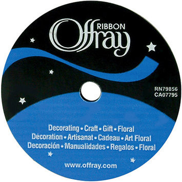 Offray 1017 7-8-789 Single Face Satin Ribbon 7-8 in. Wide 18 Feet-Sherry