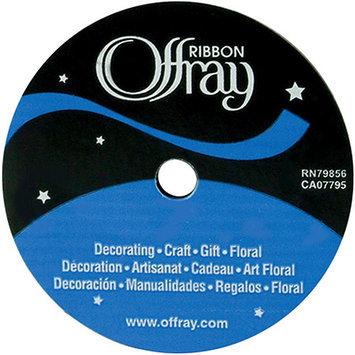 Offray 264061 Grosgrain Ribbon .88 in. Wide 18 Feet-Red