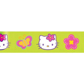 Offray Hello Kitty Ribbon 1-1/2X9-Rainbow