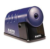 X-Acto(R) By Boston(R) Powerhouse(TM) Electric Sharpener, Translucent Blue